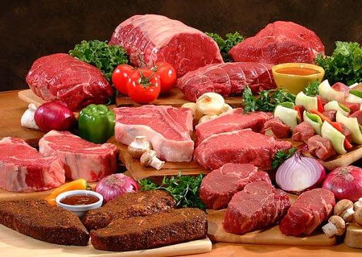 Giảm lượng thịt nạp vào cơ thể